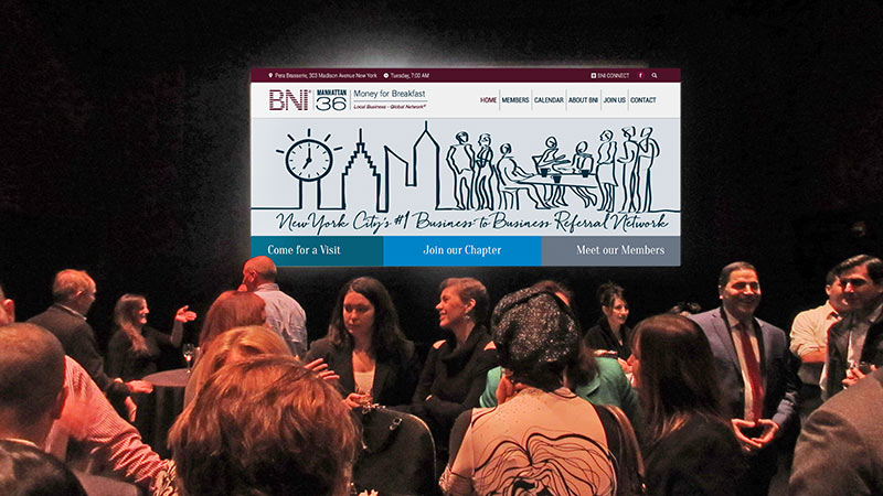 BNI Chapter 36 Website Launch Party
